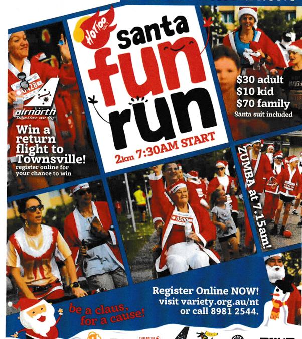 Annual Variety Santa Fun Run