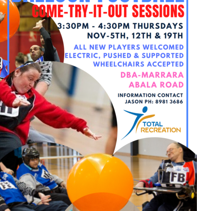 Balloon Football – Come and Try sessions