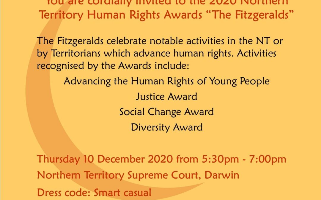 NT Human Rights Awards – 'The Fitzgeralds'